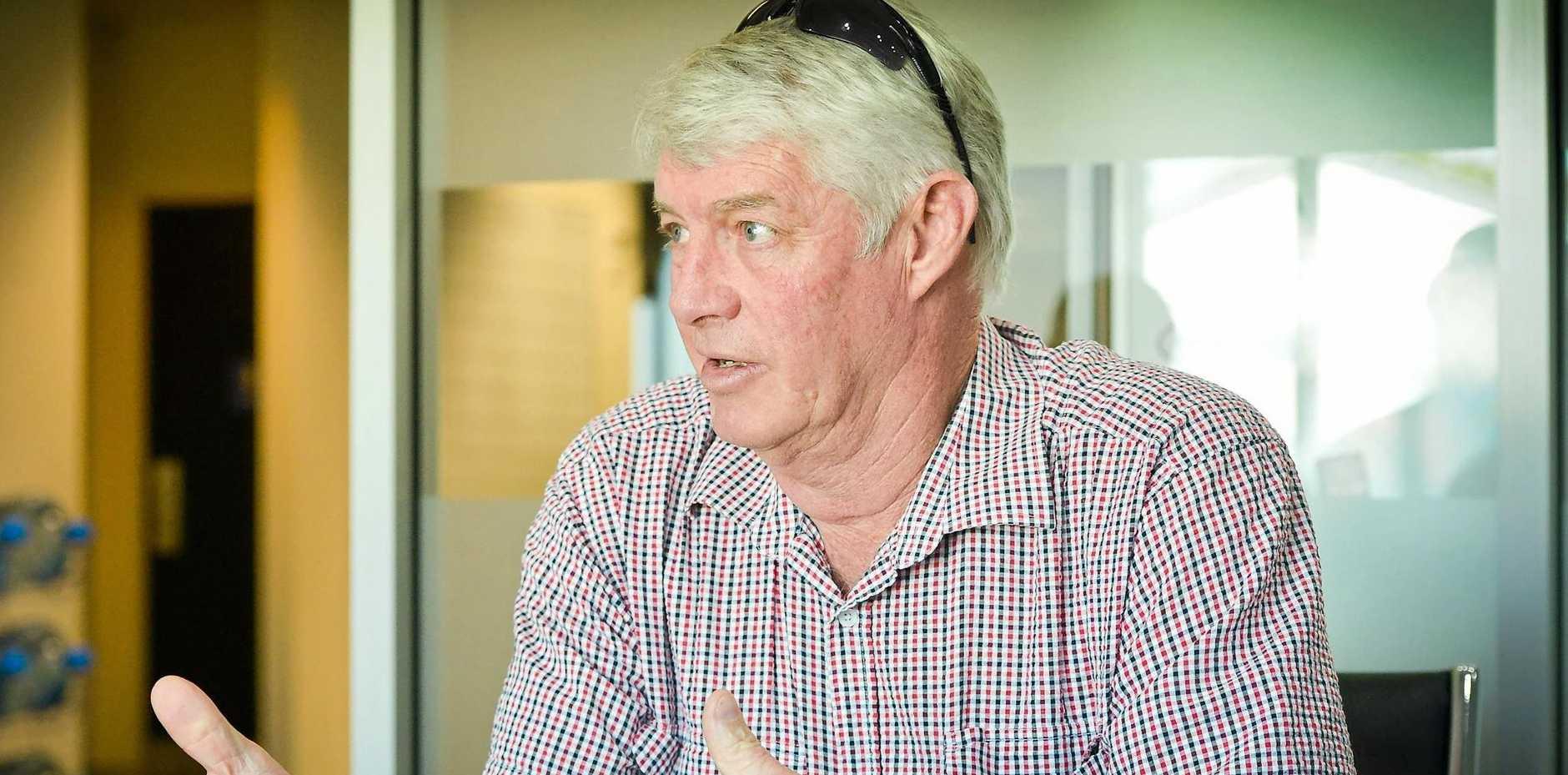 Mark McLachlan President of Boyne Burnett Inland Rail Trail BBIRT