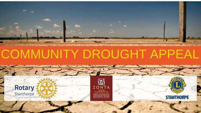 COME ALONG: A community drought appeal is happening in Stanthorpe this week.
