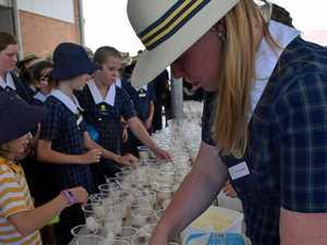 Rockhampton students sweet support for Australian farmers