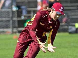 ON FIRE: Burnett teen named in national cricket team