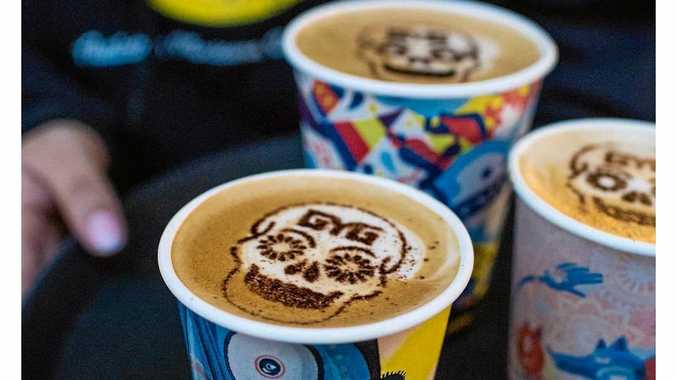 FREE COFFEE: Guzman Y Gomez is giving away free coffee every day this week.