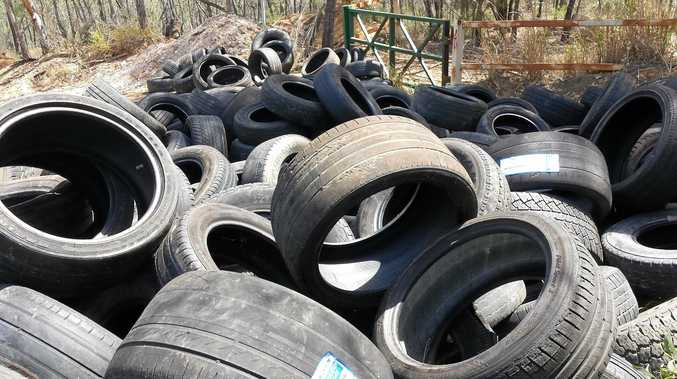 Residents down in dumps over 'dodgy' tyre collectors