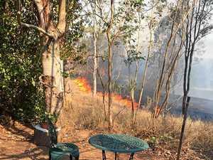 Bushfire threatens Woolooga township