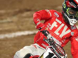 Supercross star eager for event at Coolum
