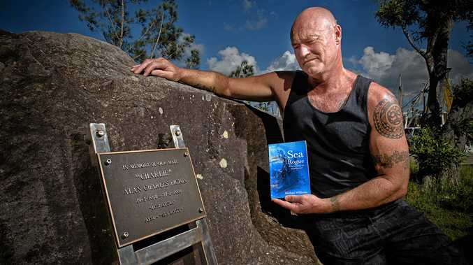 Survivor and author Michael Williams will be performing a public reading of his new book Sea Rogue at the Grafton Library tonight. It's been 10 years since the trawler accident that claimed the life of his friend while his mammoth swim to shore saved the life of another.