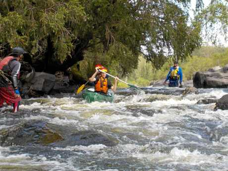 Outward Bound participants are put to the test in the Tweed's magnificent valley.