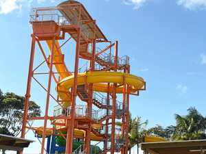 When will the Ballina waterslides open?