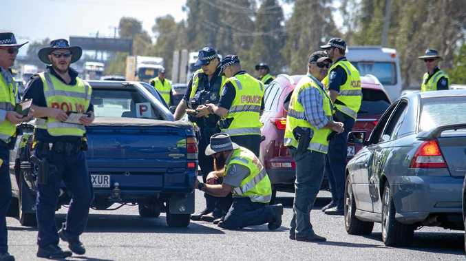 Police light up highway with road safety operation