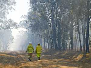 Total fire ban issued as hot, dry weather continues