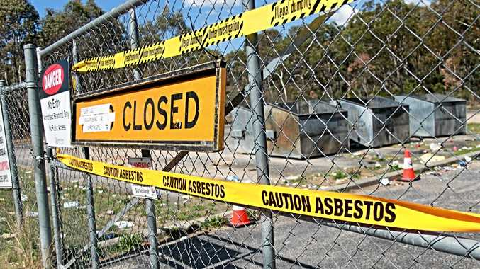 DOORS SLAMMED: The Glen Aplin bin compound has shut effective immediately after asbestos was discovered. Unfortunately for Stanthorpe residents, the local waste facility is currently not accepting asbestos material either.