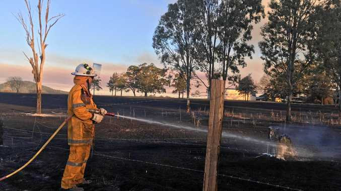 GALLERY: 36 photos, video from terrifying Woolooga bushfire