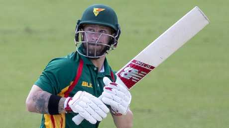 Matthew Wade hit six sixes and 11 fours.