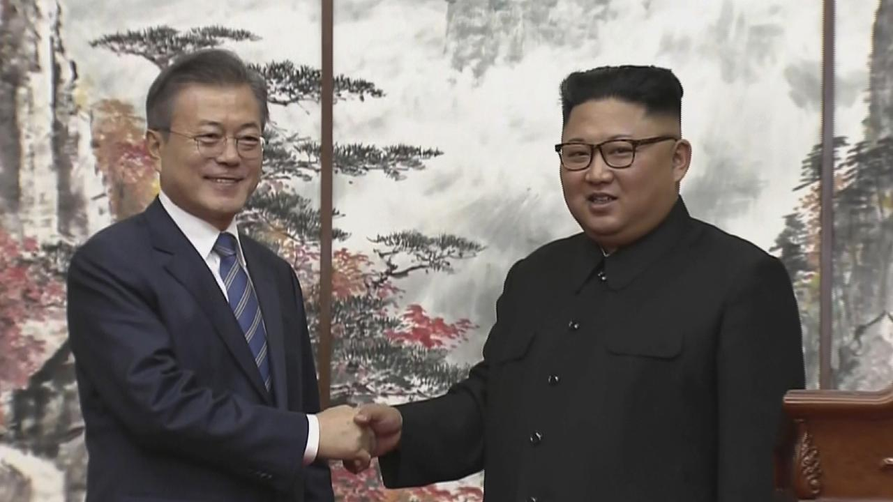The Korean leaders have agreed on a process to complete denuclearise the Korean peninsula.