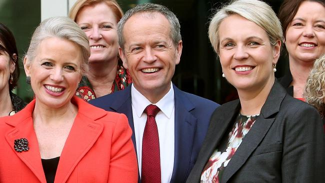 Bill Shorten has announced a $400 million plan to boost the retirement savings of women. Picture: Kym Smith
