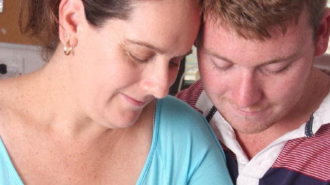 Mara Quinn and Anthony Harvey.