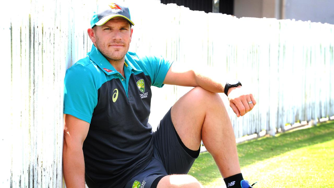 Aaron Finch is in the running to make his Test debut next month.