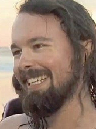 Australian musician Roy Molloy jumped into rough surf to save the boy. Picture: CBS News