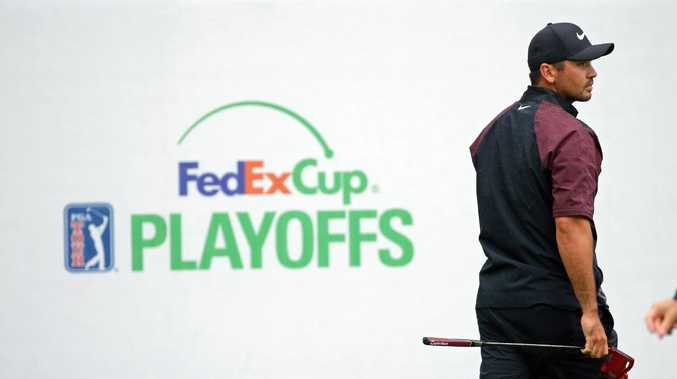 Jason Day fizzled in the first three legs of the $US67 million FedEx Cup playoffs. Picture: Getty Images
