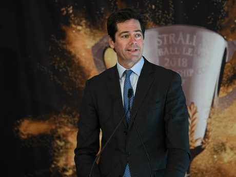 AFL CEO Gillon McLachlan. Picture: AAP