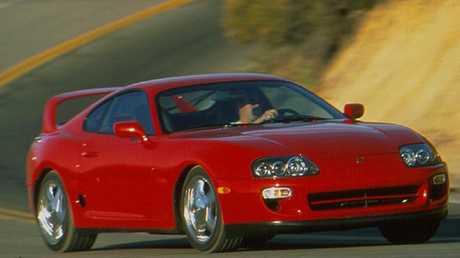 1998 Toyota Supra A80.
