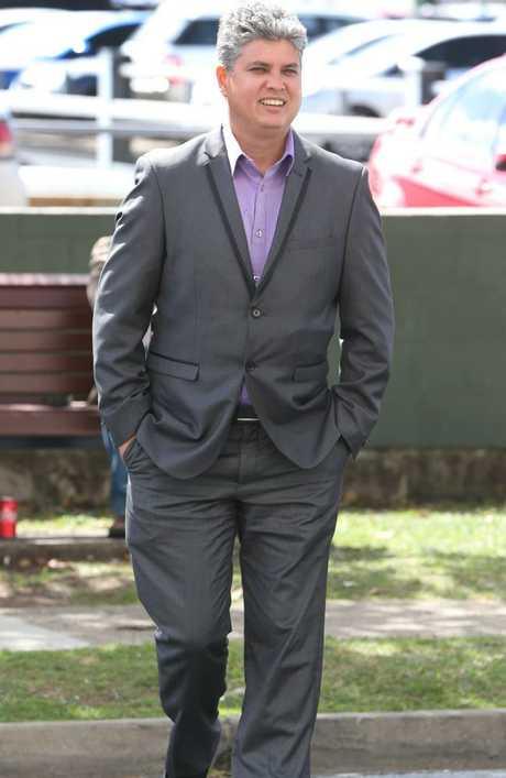 Cameron Kelly, 41, at court on Monday. Pic: Glenn Hampson.
