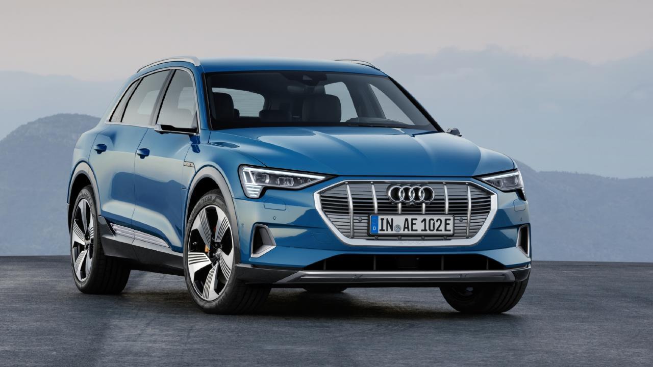 2019 Audi e-tron electric SUV.