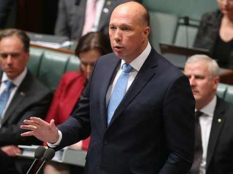 Peter Dutton is likely to face a no-confidence motion. Picture Kym Smith