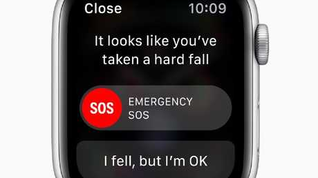 The Apple Watch Series 4 includes fall detection.