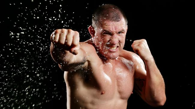 Paul Gallen is set for the biggest challenge of his boxing career. Picture: Gregg Porteous
