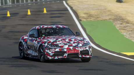 Toyota has not revealed any official performance figures for its new Supra.