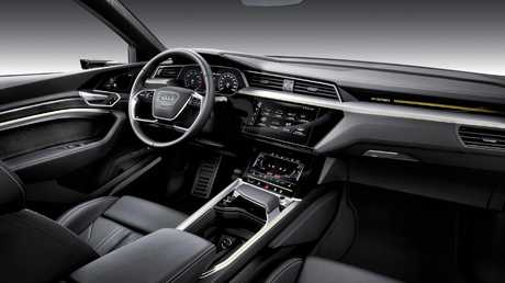 The Audi e-tron benefits from Audi's reputation for luxury cabins.