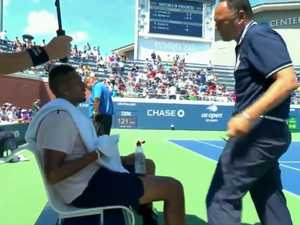 'Chummy' Kyrgios umpire banned