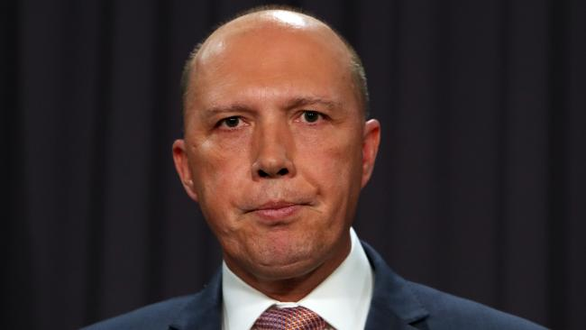 A Senate Inquiry has found Peter Dutton misled parliament over the au pairs saga. Picture: Kym Smith