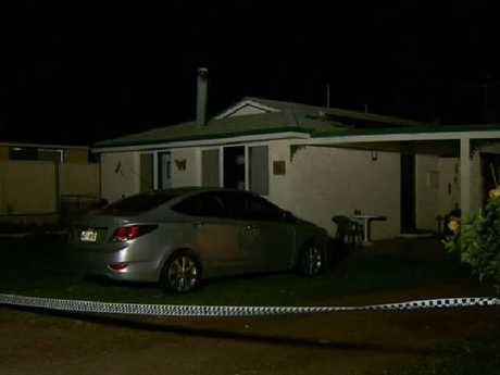 The home where the murder took place. Picture: 9News