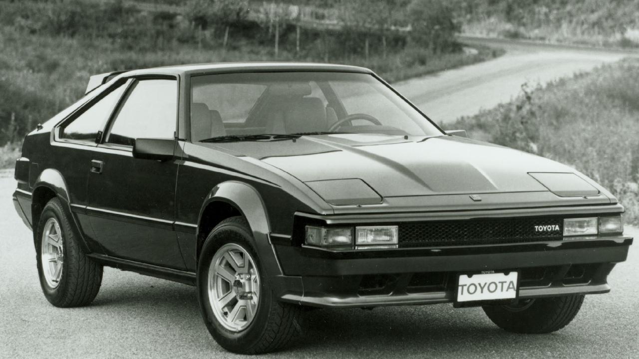 1984 Toyota Supra A60.