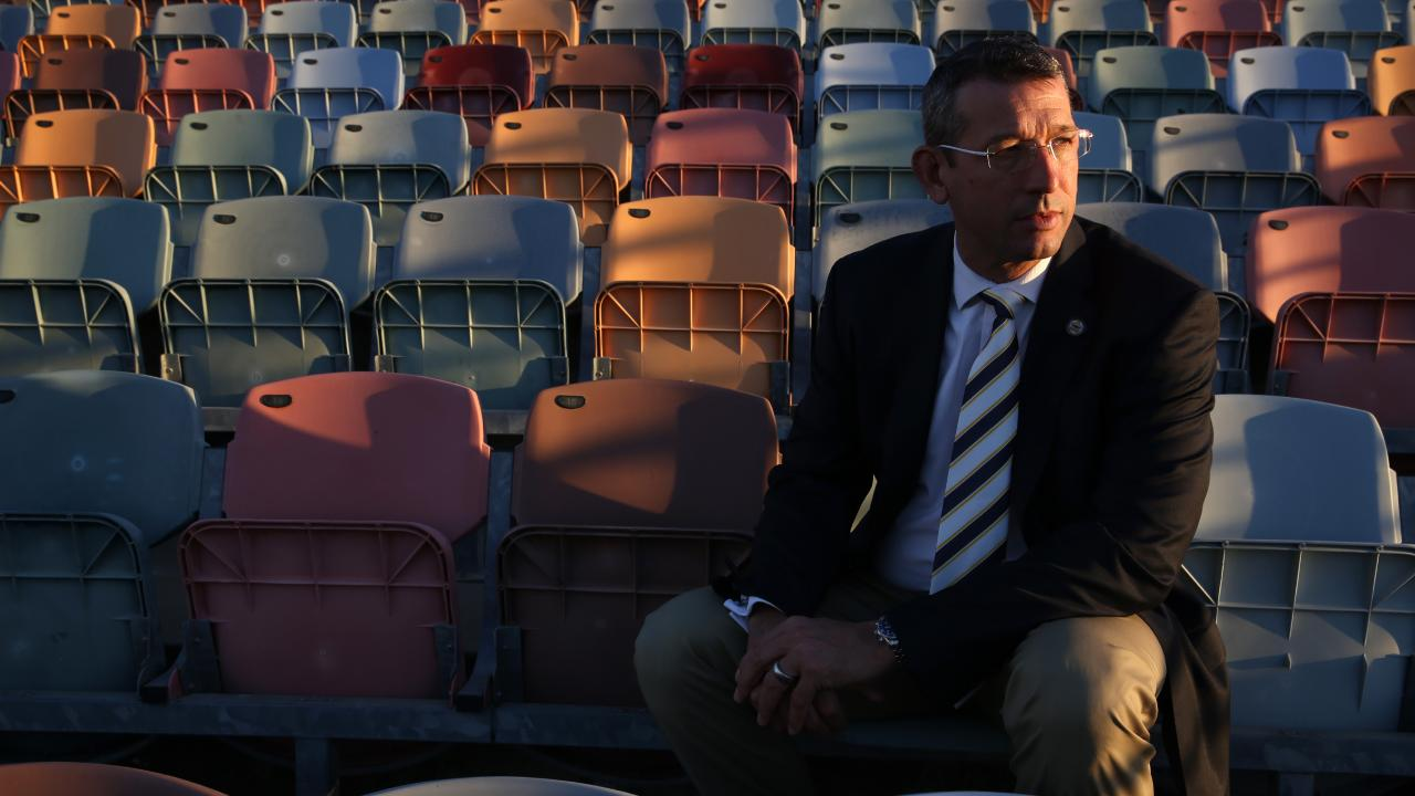 Greg Tonner's tenure as Cowboys CEO started with a bang and ended with a whimper. Photo: David Kelly