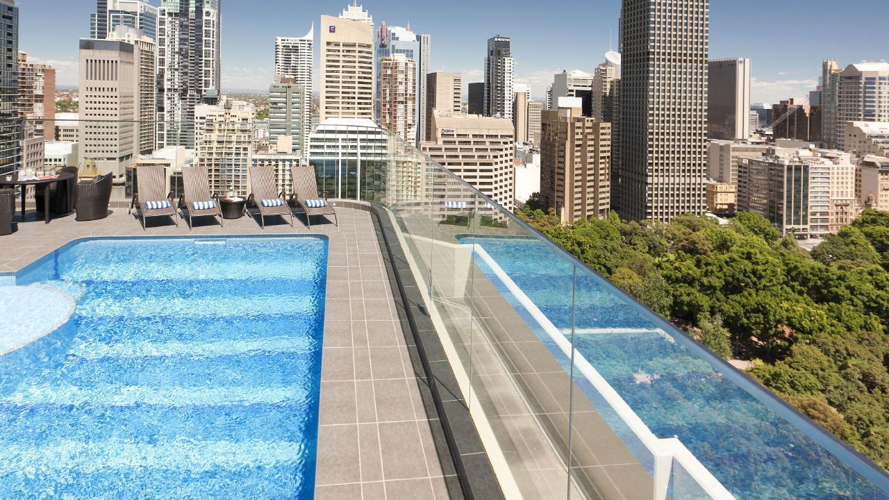 Pullman Sydney Hyde Park, formerly Sydney Marriott Hotel in Sydney.