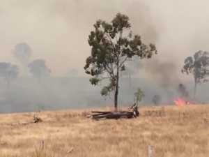 Firefighters continue battle for control at Woolooga