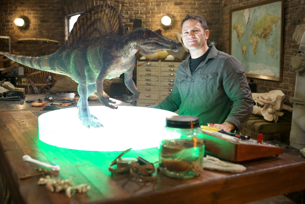 Steve Backshall is on a quest to find the deadliest dinosaur of all time in the movie Deadly Dinosaurs.