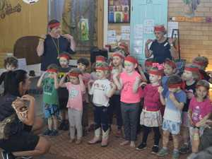 Uniting Pre-school kids in Grafton showed off what