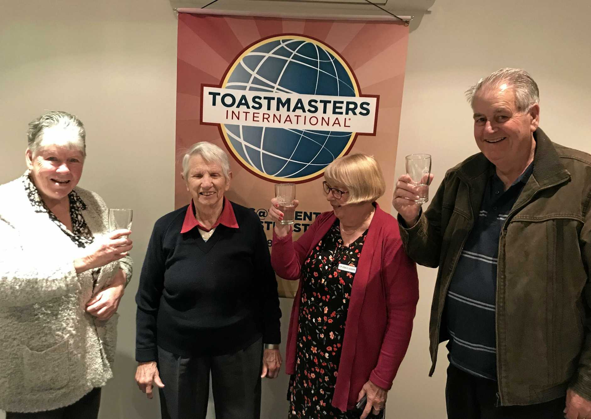 BIRTHDAY TOAST: Three cheers for Shirley Goodbar of Lisarow. Age is but a number and no barrier for this inspiring Toastmasters member.