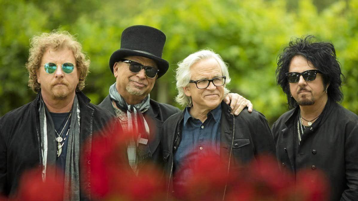 RETRO ACT: Eighties rockers Toto.