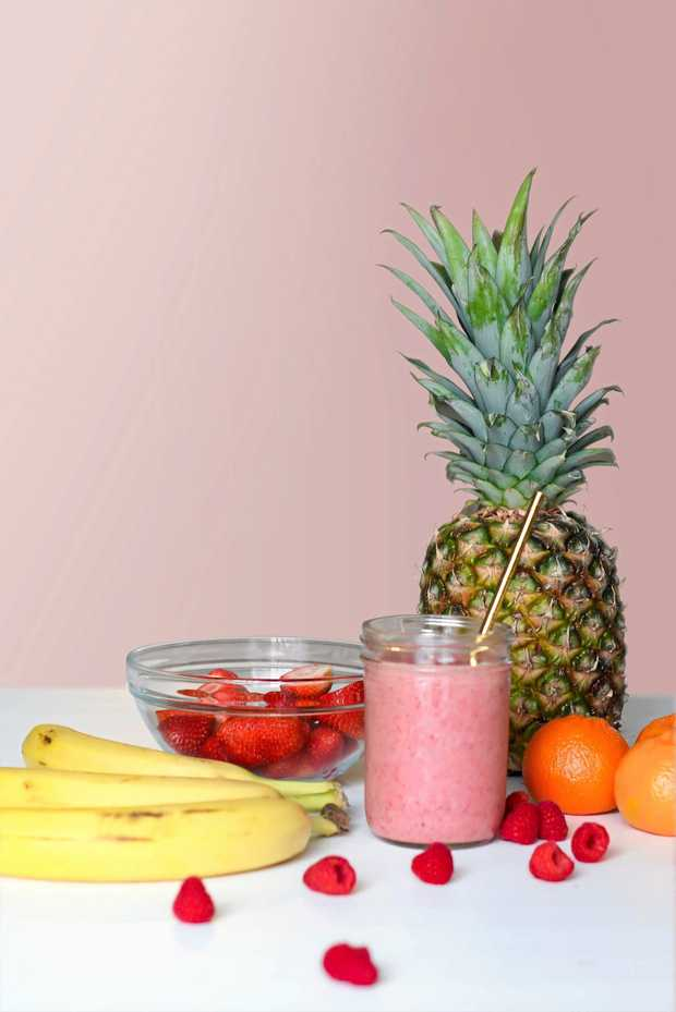 TASTY AND HEALTHY: Fruits like bananas, strawberries, raspberries, pineapple and oranges are sweet treats to enjoy this spring.