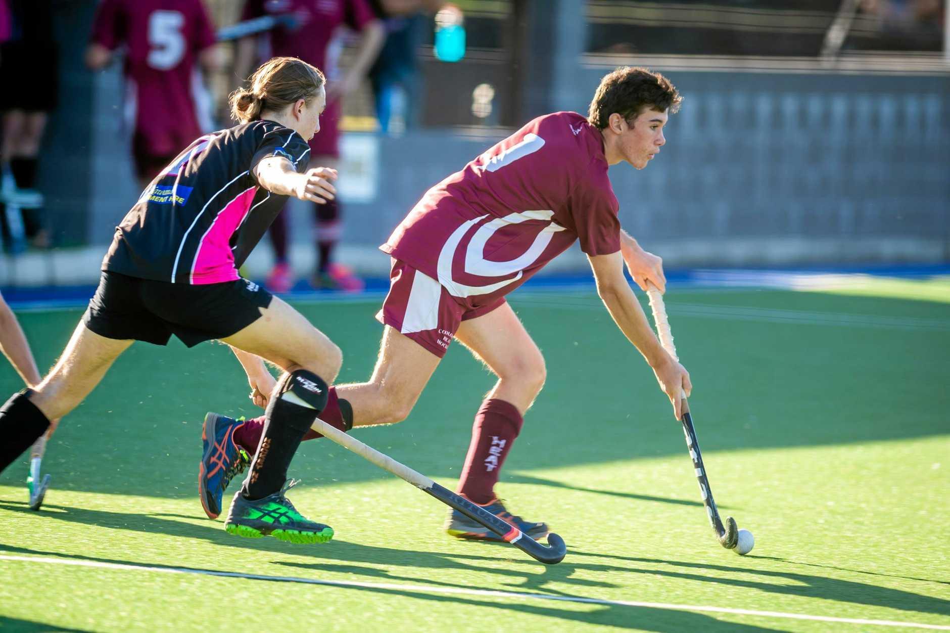 Hockey - Cooloola Heat vs Buderim - Matthew Browne Heat