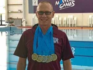 Brett dives into training for Pan Pacific Masters Games