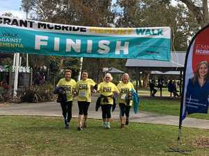 Walk raises dementia funds and special memories