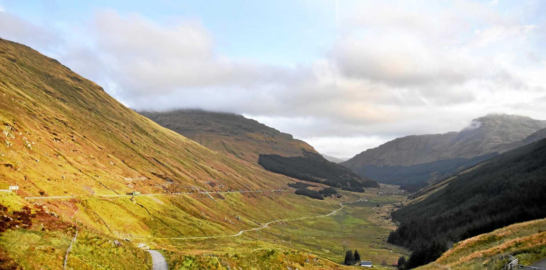 STUNNING SCENE: Rest and Be Thankful Pass, Scotland.