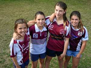 Push for tackle game for girls in Warwick and district footy