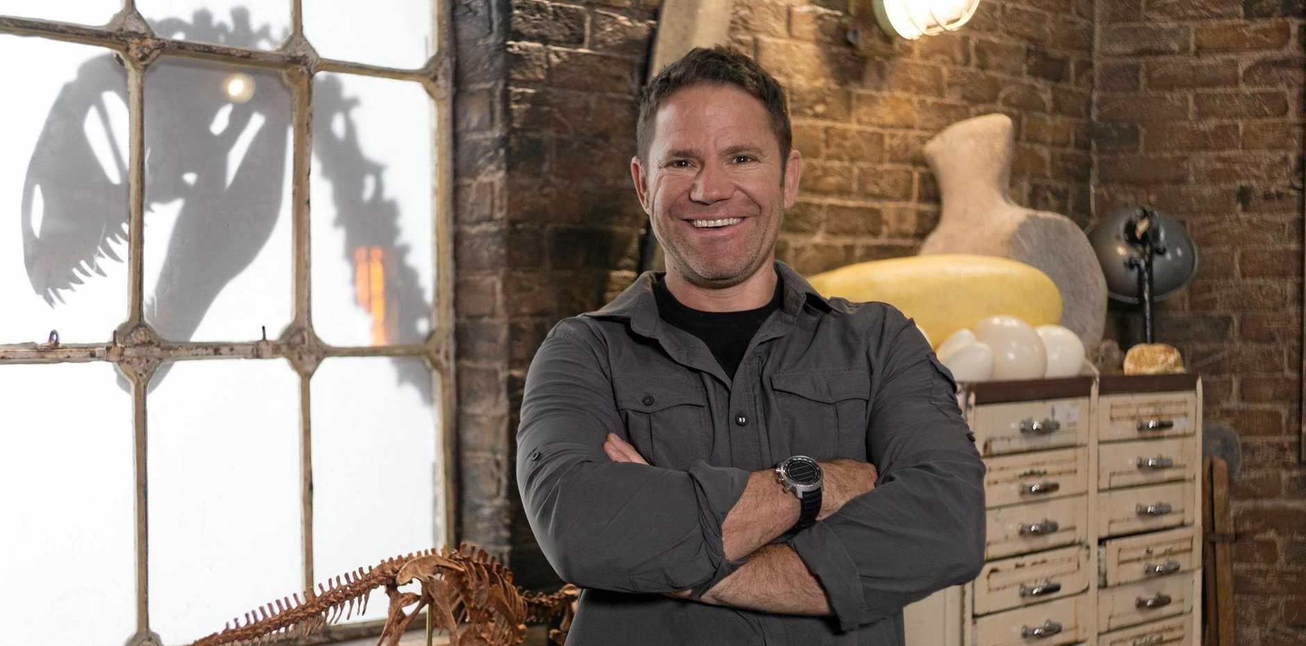 DINOSAURS REBORN: Steve Backshall stars in the movie  Deadly Dinosaurs .