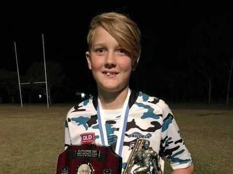 Alex Wieden with his award.